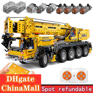 Construction Vehicle Assembled Building Block Toy Car Model Technology App Programming Remote Control Mechanical Crane Gift Pack