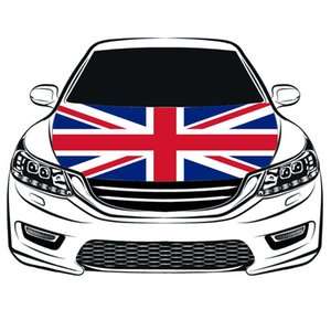 Great Britain national flag car Hood cover 3.3x5ft 100%polyester,engine elastic fabrics can be washed, car bonnet banner