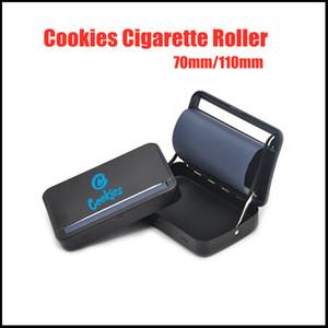 Cookies Cigarette Rouleau de cigarette 70mm 110mm Métal Modèle manuel manuel rouleau de poche automatique pure couleur pure couleur rol cigarette