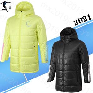 2021 Arsen algodão casaco esporte Brasão tracksuit treinamento encapuçado do futebol 20 21 roupas de inverno Esporte treino