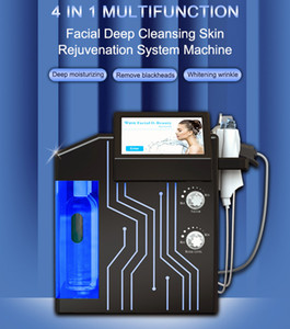 New arrival 4 in 1 hydra aqua hydrodermabrasion peeling facial oxygen jet peeing micro dermabrasion hydra facial skin machine