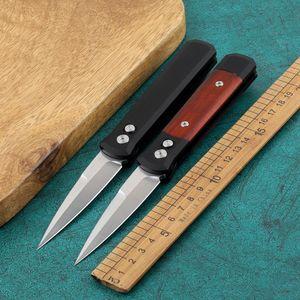 Prot Mini Godfather 920 Flipper Cuchillo automático 154 cm Micro BM 3400 4600 ZT 0456 Cuchillo al aire libre Cuchillo de supervivencia táctico