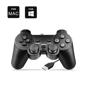 Wired USB Controller Gamepad For WinXP Win7 Win8 Win10 For PC Computer Laptop Black Game Retro Joystick