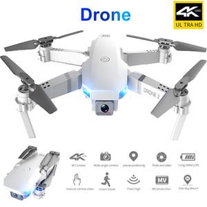 Rc drone photograp uav quadrocopter uav professionnel E59 avec caméra 4k hauteur fixe pliable de véhicule aérien sans pilote de véhicule aérien sans pilote