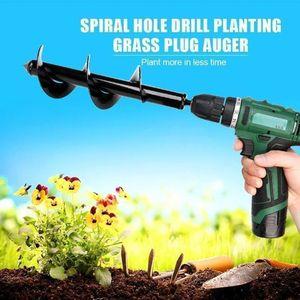 Small Ground Drill Small Accessories Digging Machine Tree Planting Electric Pile Driver Screw Machine Short Stem Twist Drill