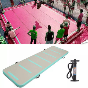 Free shipping free pump 3x1x0.2m 0.9mm PVC inflatable sport airtrack tumbling track mat for gym