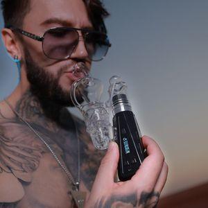 Latest Electric Electronic E Cigarette Vape Pen G9 Epro Portable Enail Herb Vaporizer Dabber Tool Carb Cap