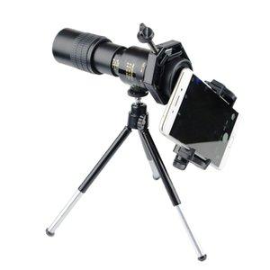Telescopio monoculare di alta qualità mini monoculare all'aperto caccia cannocchini da caccia con clip per telefono tripod clip per telefono Binocolo LJ201112