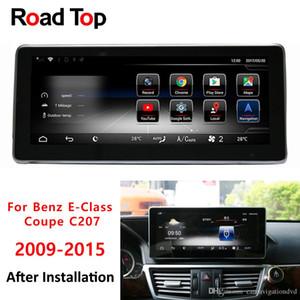 Окт 8 -CORE Cpu 4 64g Android 8 +0,1 Радио Bluetooth GPS-навигация Wifi Автомагнитола Автомобильного экран для Mercedes Benz E-Class Coupe C207