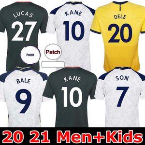 Tottenham 20 21 Bale Kane Sohn Bergwijn Ndombele Fussball Jerseys 2020 2021 Morgan Dele Jersey Football Kit Hemd Lloris Spurs Heimreise Jersey