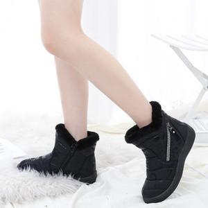 Mädchen Schneeschuhe Studenten Baumwollschuhe für den Winter Mädchen Schnee Booties Mutter Tochter warmproof Schuhe Z360