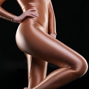 Himealavo бесшовные глянцевый блеск жесткий спортивный набор комбинезон усердие блестящий сексуальный женский боди один кусок тренировки тренировочный тренажерный зал наборы йоги