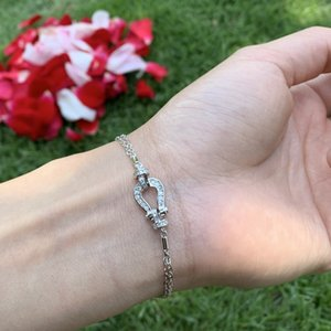 Choucong Unique Luxury Jewelry 925 Sterling Silver Pave White Sapphire CZ Diamond Etenity Women Wedding Chain Necklace For Mother's Gift