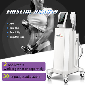 Newest EMSlim HI-EMT Stimulate Muscles equipment ems shape slimming machine Buttocks Liting DHL Ship Free CE