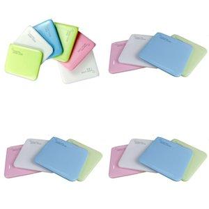 Aufbewahrungsbox Gesichtsmasken Kunststoff Anti PM 2.5 Leere Mascherine-Container länglich faltbarer sauberer Behälter 8 5 cb c2
