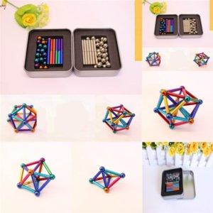 9FS Plastic Magic Decompression Puzzle Toy Cube Buckyball Cymindrical Finger Puzzle Juguetes Terreno Descompresión Tip de los niños Toy