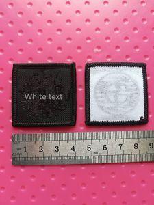 DIY 인쇄 새틴 맞춤형 의류 레이블 태그 짠 의류 레이블 사용자 정의 로고 크기 디자인 자수 패치