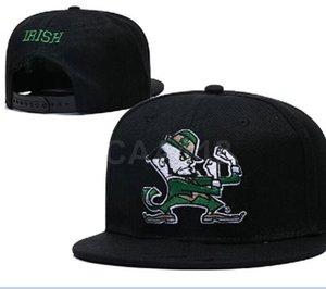 Atacado NCAA UNC Notre Dame Fighting Irish Caps ajustável Hip Chapéus snapbacks faculdade de moda Hop Chapeaus bordado grátis a1 transporte
