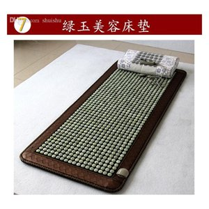 Wholesale-new Beauty Jade Mattress Heating Germanium Stone Stone Tourmaline Xiuyan Jade Stone Energy Physiotherapy He jllqlO sport777