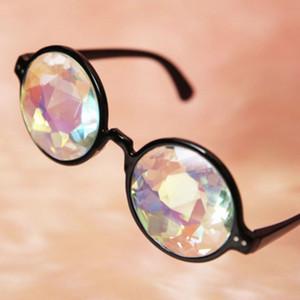 2021 последняя партия унд очки объектива Калейдоскоп Eyewears Кристалл Rave Солнцезащитные очки Hot New