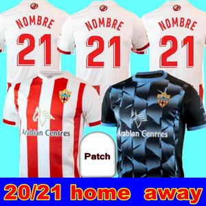 20 21 21 UD Almeria Home Over Soccer Tehersys 2020 21 F. Villalba Corpas Хуан Ибица C. De La Hoz Appiah Петрович Лазо Намбре UD Almería