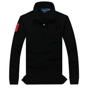 Hommes Hoodies Polo brodé Sweat-shirt à manches longues à capuche de haute qualité Sweats à capuche Casual Streetwear Jumpers unisexe Chemises