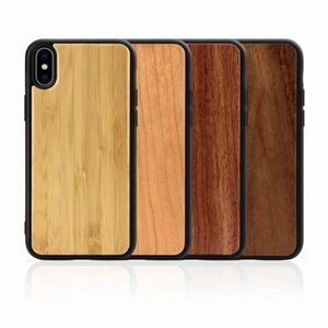 For iPhone 11 solid wood phone case For iPhone 7 8 plus X XR XS MAX 11 Pro MAX ultra thin back case