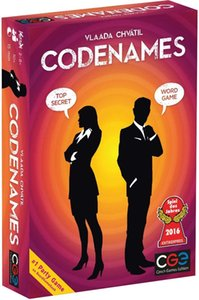 CodeNames بطاقة خصم الصور Party Board Word Card Game Geek Game Winner