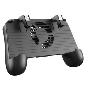 Móvel Game Controller para PUBG 4-In-1 Móvel Gamepad Atire Aim Joystick Gatilho Cooling Fan 2000mAh Power Bank portátil