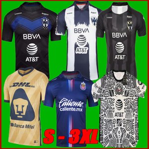 Liga MX 2122 Club America Soccer Jerseys Terzo 2021 2022 Messico Xolos de Tijuana Tigres Unam Guadalajara Chivas Cruz Azul Camicie di calcio