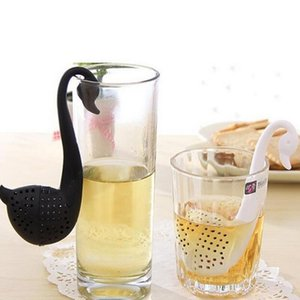 Tea Infuser Swan Loose Tea Strainer Herb Spice Filter Diffuser Kitchen Gadgets Coffee Filter Drinkware Accessories Life Partner GGE1998