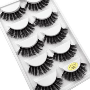 10 Pairs False Eyelashes 3d Mink Lashes Natural Handmade Volume Soft Lashes Long Eyelash Extension Real Mink Eyelash For Makeup yxlNvx