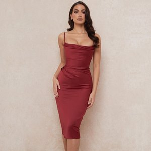 pRZx 2020 new dress sexy pleated womens small dress solid one piece party multi plus color plus bandage size
