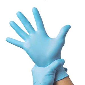 Нитриловые перчатки Intco одноразовые перчатки синий охраны труда Non-Slip Водонепроницаемый Без Powder Универсальная приусадебном Guantes Factory
