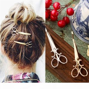 Creative Scissors Shape Women Lady Girls Hair Clip Delicate Hair Pin Barrette Hair Accessories Decorations