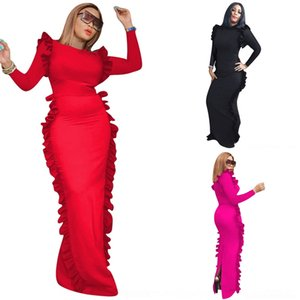 4O6S Women Dress Maternity Photography Props Shoot Pregnancy Clothes Maternity Dresses for Lace Photo Pregnant Cloth Plus