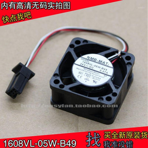 Brand new A90L-0001-0551 #A 1608VL-05W-B49 24V Fan for FANUC System 40x40x20mm cooling fan cooler1