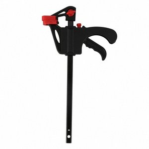Wood-Working Bar Clamp 4 Inch Quick Ratchet Release Speed Squeeze Diy Tool Color Random Hand Tools D5qV#