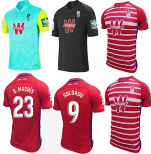 new Granada Soccer Jerseys 2020 21 VADILLO SOLDADO A.PUERTAS F.VICO HERRERA DOMINGOS D. D.MACHIS C.FERNANDEZ Football shirt