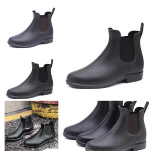 Yobss Otoño Botas de lluvia Botas de lluvia FashionNeymar Boot Boots Outdoor Adulto Slip Slip Men Barato Timber Botas Amante Casual