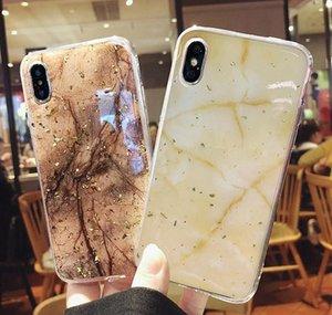 Phone Case For Iphone 11 6 6s 7 8 Plus X Xr Xs Max Luxury Bling Gold Foil Marble Glitter Soft Tpu Golden Marble Ph jllshB infant2005