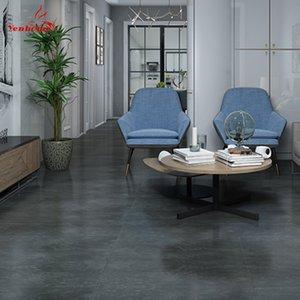 Wasserdichte Bodenaufkleber Self Adhesive Marmor Tapeten Badezimmer-Wand-Aufkleber Haus Renovierung Abziehbilder DIY Wand-Boden-Dekor