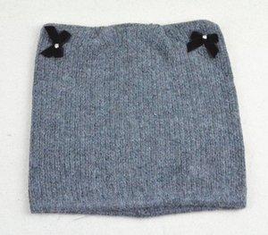 Nouvelle mode d'hiver Bonneterie Chapeaux Designer Bonnets Hommes Femmes Bonnet Knit Bow noeud Bonnet Gorros Touca Réchauffez Calotte L361 en ligne