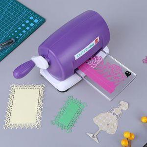 Embossing Machine Scrapbooking Cutter Dies Machine Paper Card Making Craft Tool Die-Cut Machine Home Embossing Tool Q1114