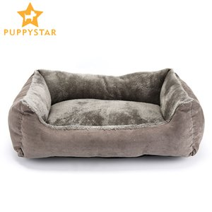 Pet Dog Bed Диван-кровать Big Dog Для Маленький Средний Большой Пес Маты Bench Lounger Cat Чихуахуа щенок Кровать Kennel Cat Pet Дом и сад C1004
