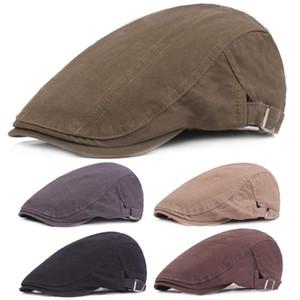 Men Hats Cor lisa Driving Golf Hat Casual Viagem ajustável Newsboy Caps HATCS0354