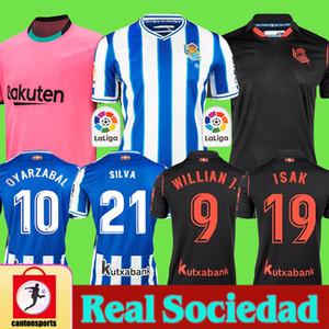 Real Sociedad 2020 2021 OYARZABAL X PRIETO Agirretxe HOMME ENFANT Maillot football GRANERO ODEGAARD juanmi 20 21 chemisette de Fútbol Shirts Football