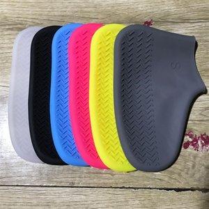 ماء حذاء غطاء سيليكون المواد للجنسين أحذية حماة الأحذية المطر ل داخلي في الهواء الطلق أيام ممطرة reusable dha407 14 n2