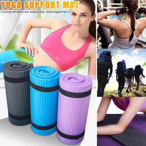 15mm 60cx25cm Yoga Mat Knee Pads Carpet Fitness Gym Exercise Pad Elbow Sport Mattress Beginner Indoor Roller Knee Pads X11A 235