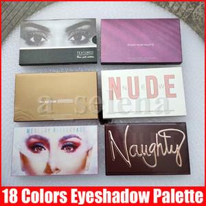 Augen Makeup Lidschatten 18 Farben Palette Naughty Nude Rose Gold Shimmer Matte Eye Shadow Pro Eyes Make-up Kosmetik 6 Arten
